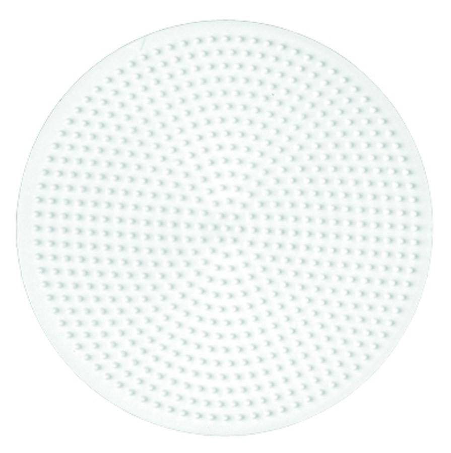 Placa pegboard con forma redonda para creaciones hama beads midi