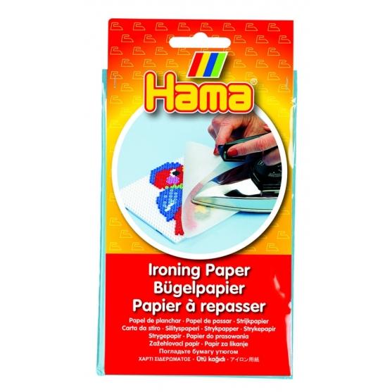 papel de planchado hama beads (4 hojas)