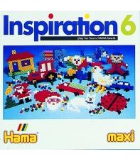 cuaderno diseños hama beads inspiration 6, 13 páginas
