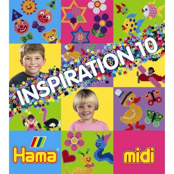 cuaderno diseños hama beads inspiration 10, 63 páginas