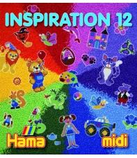 cuaderno diseños hama beads midi inspiration 12, 66 páginas