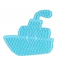 placa pegboard barco para hama beads maxi