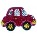 placa pegboard coche para hama beads maxi