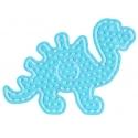 placa pegboard dinosaurio para hama beads maxi