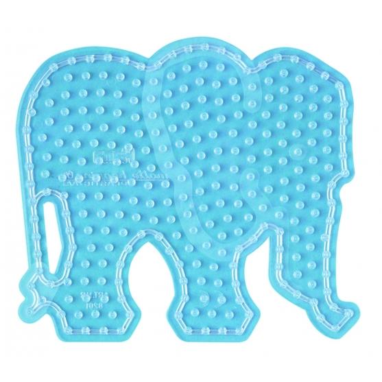 placa pegboard elefante para hama beads maxi