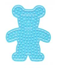 placa pegboard osito para hama beads maxi