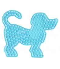 placa pegboard perro para hama beads maxi