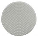 placa pegboard redonda 12 cm para hama beads midi