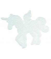 placa pegboard unicornio para hama beads midi