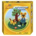 pack my pocket hama osito (1000 piezas, 3 soportes y 1 placa pegboard) hama beads midi