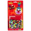 blister cuadrada pequeña (450 piezas y 1 placa pegboard) hama beads midi