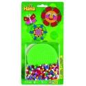 blister circulo pequeño (450 piezas y 1 placa pegboard) hama beads midi