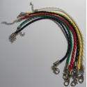 pulsera de cuero 20 cm hama beads