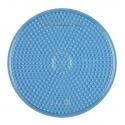 placa pegboard redonda transparente 15 cm para hama beads midi