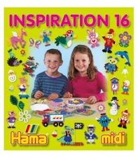 cuaderno diseños hama beads midi inspiration 16, 68 páginas