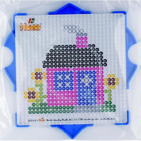 pack marco múltiple cuadrado hama beads midi