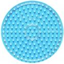placa pegboard redonda para hama beads maxi