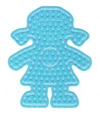 placa pegboard niña para hama beads maxi