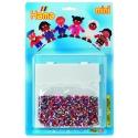blister niños del mundo (5000 piezas y 1 placa pegboard ) hama beads mini
