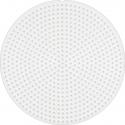 placa pegboard redonda para hama beads mini