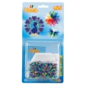 blister hexágono (2000 piezas y 1 placa pegboard) hama beads mini