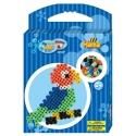 pack de inicio loro (350 piezas y placa pegboard) hama beads maxi