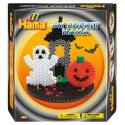 pack my pocket hama halloween (1000 piezas, 3 soportes y 1 placa pegboard) hama beads midi