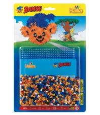 blister bimse (1100 piezas y 1 placa pegboard) hama beads midi
