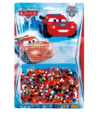 blister disney pixar cars (1100 piezas y 1 placa pegboard) hama beads midi