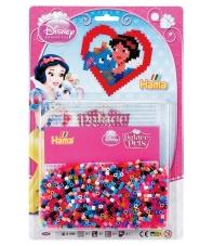 blister palacio de mascotas disney (1100 piezas y 1 placa pegboard) hama beads midi