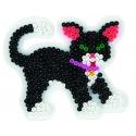 blister 3 placas pegboards (caballo, perro y gato) para hama beads midi