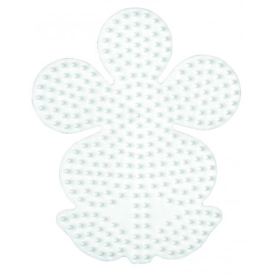 placa pegboard flor para hama beads midi