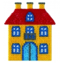 placa pegboard casa para hama beads midi