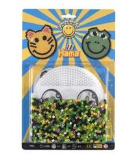 blister smiley world (1100 piezas y 1 placa pegboard) hama beads midi