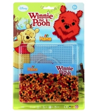 blister winnie the pooh (1100 piezas y 1 placa pegboard) hama beads midi