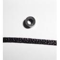 cuerda de nailon suave negra 2 mm hama beads
