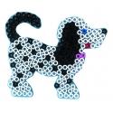 blíster 2 placas pegboards (perro y pato) para hama beads maxi