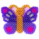 blíster 2 placas pegboards (camión y mariposa) para hama beads maxi