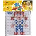 pack blister niña (placa + diseño) hama beads maxi