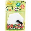 blister pulseras (900 piezas, 1 placa pegboard y cuerda) hama beads midi