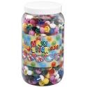 bote 650 piezas (9 colores) hama maxi stick