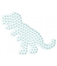 placa pegboard dinosaurio para hama beads midi