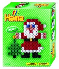 pack de inicio navidad (400 piezas y 1 placa pegboard) hama beads midi