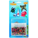 blister cuadrado (2000 piezas y 1 placa pegboard) hama beads mini