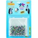 blister wow (5000 piezas y 1 placa pegboard ) hama beads mini