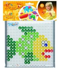pack blister pez (placa + diseño) hama beads maxi