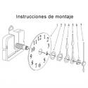 mecanismo reloj hama beads