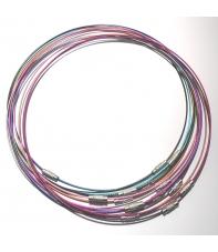 collares de acero hama beads