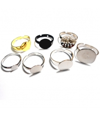 anillos ajustables hama beads