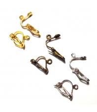 pendientes clip (pareja) hama beads